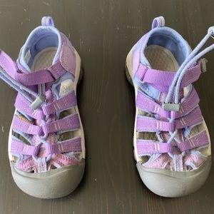 Keen Newport H2 Purple Shoes - Excellent Condition